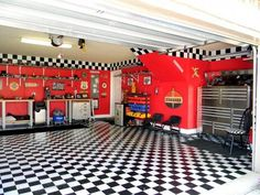 "I imagine Deric""s garage looking like this."