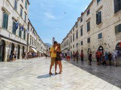 Placa ou Stradun (a rua principal da Old Dubrovnik)