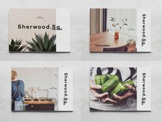 Sherwood Square on Behance