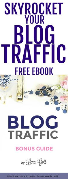 This blogger grew her page views from 17K-400K in only 10 months! This FREE guide is full of tips to help you jumpstart your blog quickly! #afflink