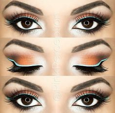 A pretty accent liner can make a major difference! #makeup