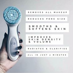 2 minutes for 7 Skin benefits. Reduce pore size, increase skin volume and density and have that luminous glow you have been longing for Nu Skin, Galvanic Body Spa, Reduce Pore Size, Bronze Skin, Facial Cleanser, Anti Aging Skin Care, Face And Body, Skin Products, Face Care