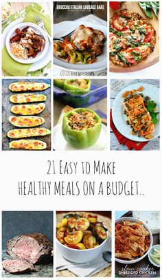 Are you looking to get healthier like I did, these tried and tested 21 Healthy Meals on a budget will help you lose weight and make you feel super healthy.
