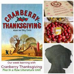 Cranberry Thanksgiving Literature Unit: Five in a Row Curriculum- so much learning from reading one book!