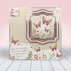 Club Hunkydory Member's Gift - Wishes on Wings Card Kit, I Card, Kanban Crafts, Hunkydory Crafts, Card Companies, Adult Crafts, Butterfly Cards, Arts And Crafts Movement, Baby Kind