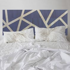 Summer daze at Manly. This KALEIDA headboard has been thoughtfully designed, balancing a kaleidoscope of fashionable colours. Strips of natural wood are revealed between the coloured sections.