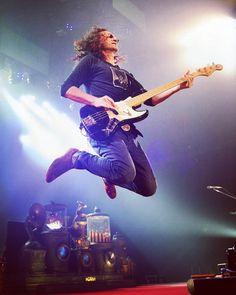 Over club president - Geddy Lee of Rush. Rock Roll, Rush Concert, Rush Band, Geddy Lee, Alex Lifeson, Neil Peart, Clockwork Angel, Progressive Rock, Rock Legends