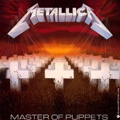 Metallica - Master Of Puppets animated cover artwork by www.animatedcovers.com