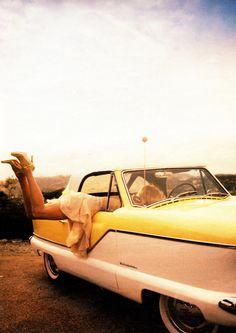 Goldie Hawn by Peggy Sirota.
