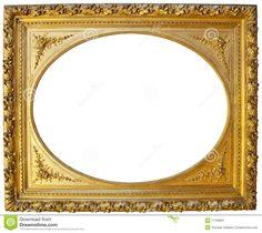 goldener-bilderrahmen-der-weinlese-17709801.jpg (1300×1157)
