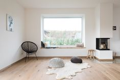 Wohn-Esszimmer Wohn-Esszimmer The post Wohn-Esszimmer appeared first on Raumteiler ideen. Home Decor Bedroom, Living Room Decor, Living Spaces, Dining Room, Open Plan Kitchen Living Room, Interior Architecture, Interior Design, House Windows, Wood Windows