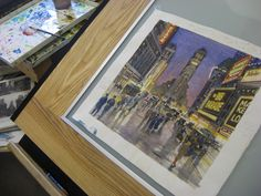 ONE TIMES SQUARE:  A Century of Change by Joe McKendry, via Behance
