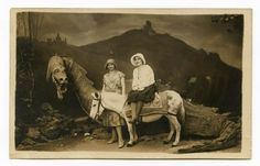 RETRO – Les faux décors dans les photos anciennes (image)