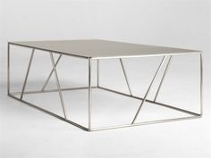 Julien Vidame . low steel coffee table