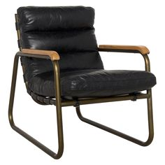 Shop this noir furniture cowhide arm black accent chair from our top selling Noir Furniture living room chairs. LuxeDecor is your premier online showroom for living room furniture and high-end home decor. Black Leather Armchair, Leather Lounge, Leather Chairs, Leather Recliner, Cool Chairs, Arm Chairs, Blue Chairs, White Chairs, Eames Chairs