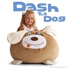 Comfort Research - Bean Bagimals  - Dash the Dog Bean Bagimal   ON SALE: $54.99   Free Shipping - No Sales Tax.
