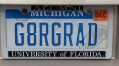 Florida Gater grad in Michigan