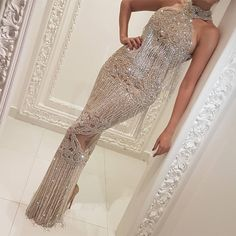 2017 Crystal Long Formal Evening Dress Mermaid Celebrity Pageant Party Prom Gown on Luulla Mermaid Evening Dresses, Formal Evening Dresses, Elegant Dresses, Prom Dresses, Backless Dresses, Ball Dresses, Zuhair Murad, Kylie Jenner, Fishtail Skirt