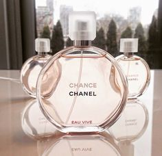 Chanel Chance Eau Vive ~ grapefruit, red orange jasmine vetiver, white musk