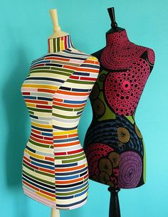 new modern mannequins by Corset Laced Mannequins, via Flickr