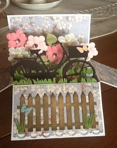 Pop up box card
