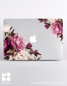 Flowers Macbook Case Macbook Pro 13 Case Macbook by CasesbyMODO