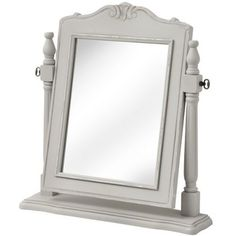 Fleur Dressing Table Mirror  A practical, stable hinged mirror in the Fleur idiom…