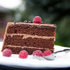 Chocolate Cake Recipe (Prague Cake) | NatashasKitchen.com