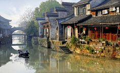 Beautiful Chinese river towns by Rui Yuan