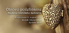 Pozvánka na konferenciu 21. augusta 2016 (nedeľa) - Spišská Belá
