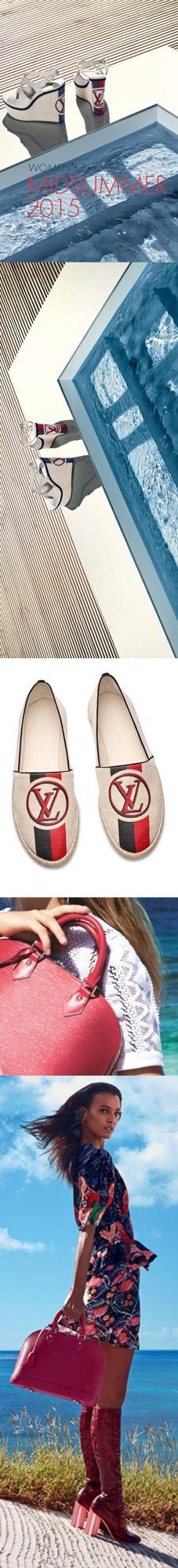 Louis Vuitton Summer 2015 by #Luxurydotcom via #Luxurydotcom