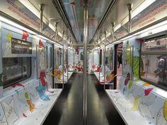 New York City SubwayTrain ~ Macy's Ad Wrap