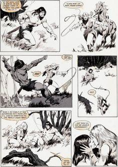 John Buscema, Savage Sword of Conan