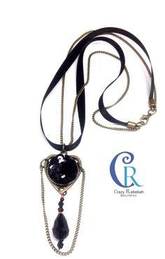 #gargantilla #necklace #burlesque Collection #crazyrebekah #bisuteria crazyrebekahbisuteria@gmail.com