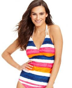a1f8177c9b Find the lowest price on the Lauren Ralph Lauren Striped Halter Tankini Top  (Multi) LAUREN Ralph Lauren. We offer the best selection of womens swimwear  and ...