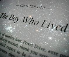 THE BOY WHO LIVED.