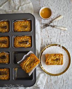 Caramelised Banana Breads