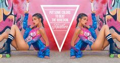 #design #power #mystic #orion #Star #Triskale #mermaid #elements #tattoo #universe #energy #girl #colors #beautiful #pinkhair #swimwear #swimsuit #DilyanaPopova #bulgaria