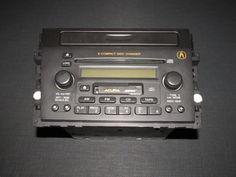 01 02 03 Acura CL OEM Type-S OEM Bose Radio CD Cassette Player Unit