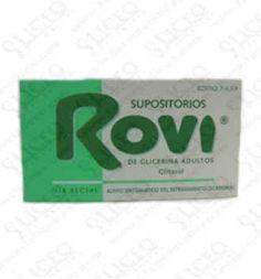 SUPOSITORIOS GLICERINA ROVI ADULTOS 3.36 G 12 SU
