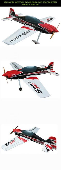 87in vantex 50cc sbach 342 arf balsa giant scale rc sports aerobatic airplane camera