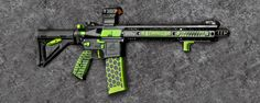 The AR- 15 completely transformed.