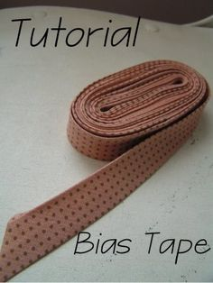 Tea Rose Home: Tutorial--Bias Tape---