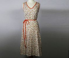 Vintage A line dress @ http://www.etsy.com/shop/FrequencyVintage