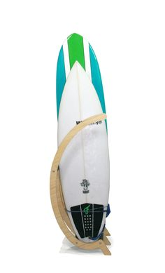 Surfboard rack that can be added to. Freestanding furniture piece to be added to any coastal apartment.