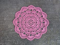 Ravelry: Winter's Breath Doily pattern by Denise (Augostine) Owens