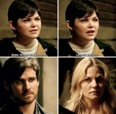 "Snow White, Emma Swan and Killian Jones - 5 * 17 ""Her Handsome Hero"" #CaptainSwan"