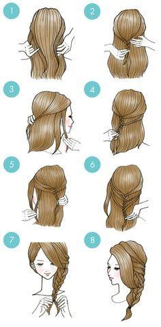 20 cute hairstyles that are extremely easy to do - hairstyles .- 20 süße Frisuren, die extrem einfach zu tun sind – Frisuren Modelle 20 cute hairstyles that are extremely easy to do - Easy To Do Hairstyles, Easy Everyday Hairstyles, Cute Simple Hairstyles, Braided Hairstyles, Indian Hairstyles, Wedding Hairstyles, Easy Hairstyle, Elegant Hairstyles, School Hairstyles
