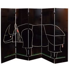 1stdibs.com | Claude and Francois-Xavier Lalanne Rhino Screen