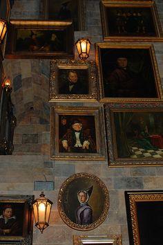 Hogwarts stairwell